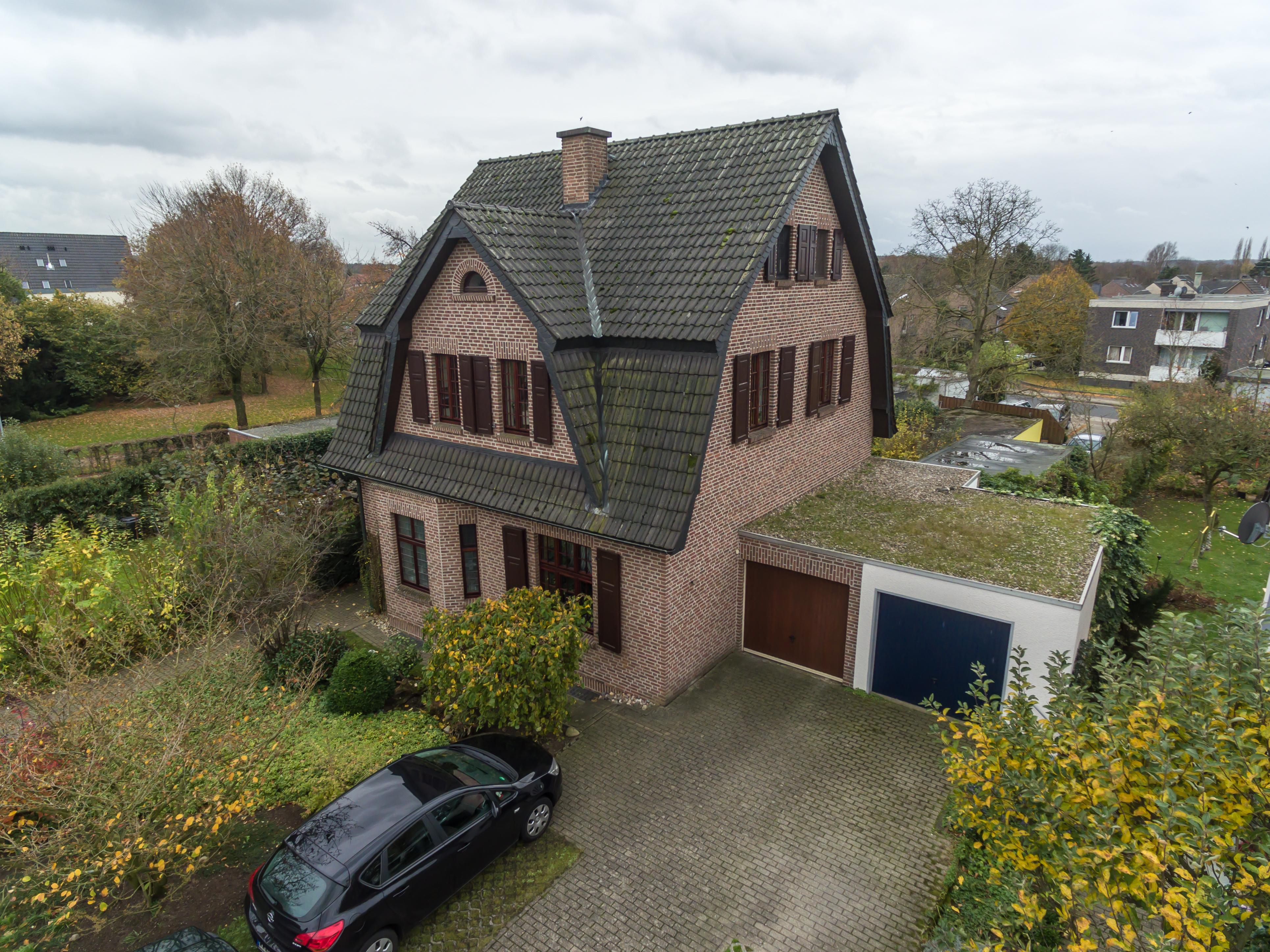 Luftaufnahme Immobilienfoto Einfamilienhaus