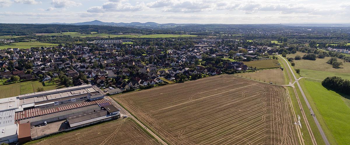 Luftaufnahme Sankt Augustin Buisdorf